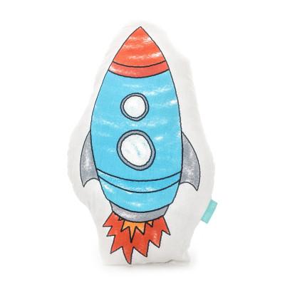 Kissen Weltraumrakete