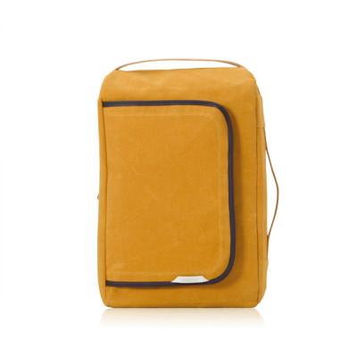 R Bag 100 Wax Canvas | Mustard
