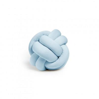 Dekorativer Kissenknoten | Baby Blue
