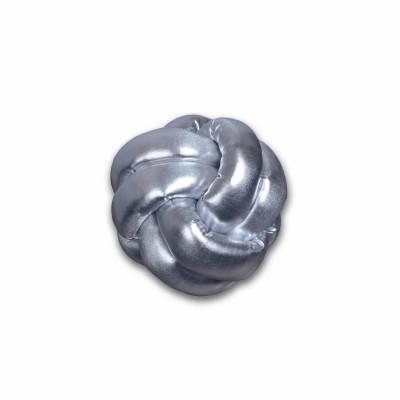 Dekorativer Kissenknoten | Silber