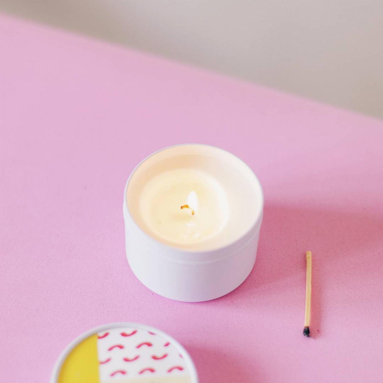 Fragrance Candle   Lemongrass