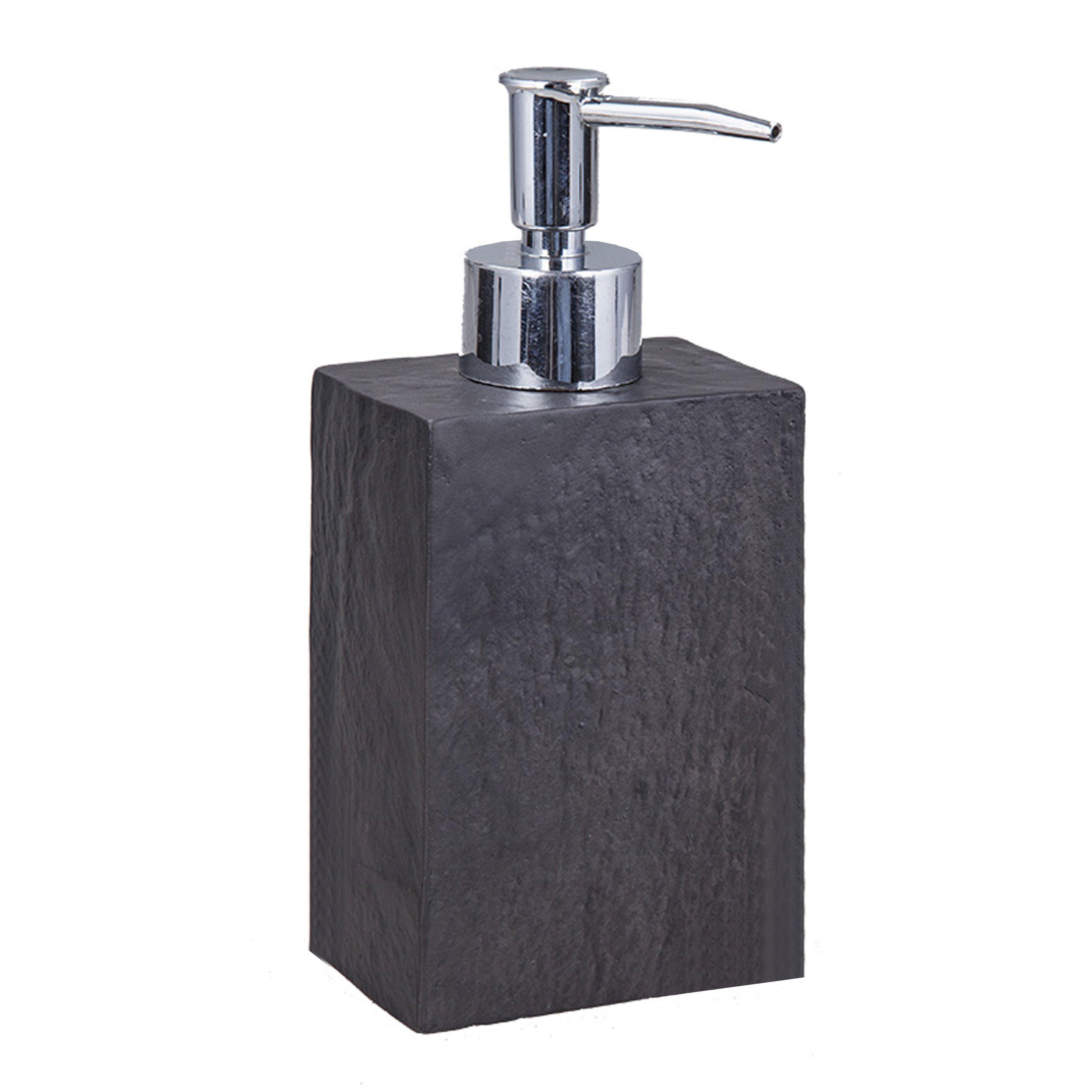 Soap Dispenser Slate   Black