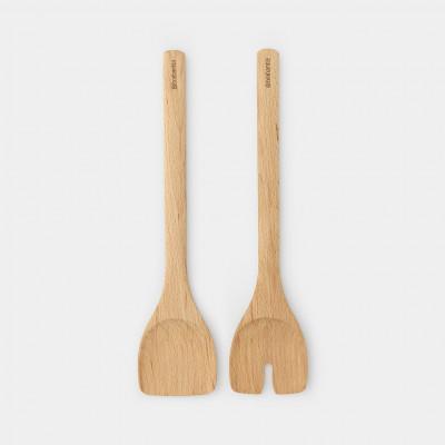 Salatbesteck Holz   2er Set
