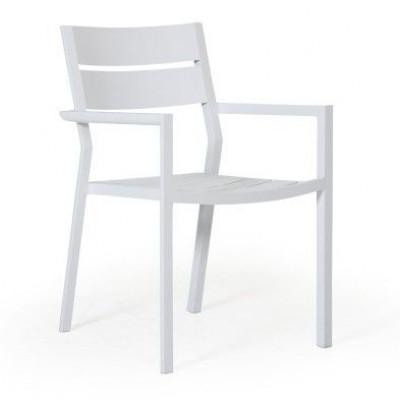 Stapelbarer Stuhl Delia |  White