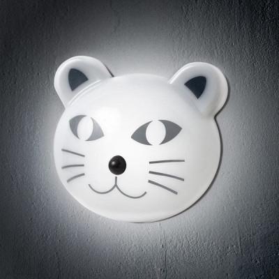 Leuchte mit Bewegungssensor Katze
