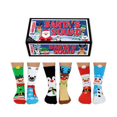Socken Jungen Weihnachtsmann 6 Paare