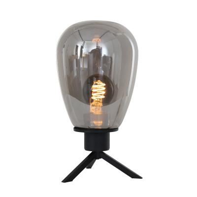 Tischlampe 1-L   Schwarz
