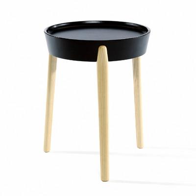 Beistelltisch Coccola | Schwarz und Holz