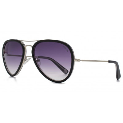 Supersonic Sunglasses   Black/Clear