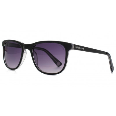 Rhapsody Sunglasses   Black/Clear