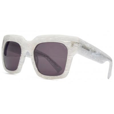 Genesis Sunglasses   White Marble