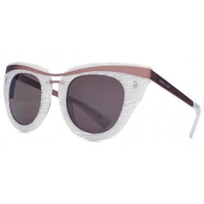 Clique Sunglasses   White Marble