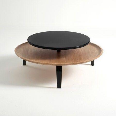 Large Secreto Coffee Table | Natural/Black