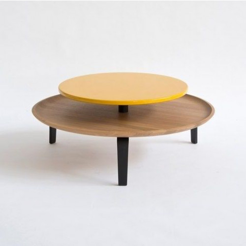 Large Secreto Coffee Table   Natural/Yellow