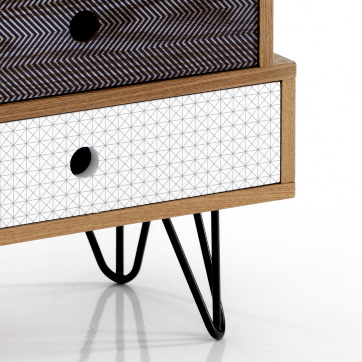 Chest of Drawers Hijo Low