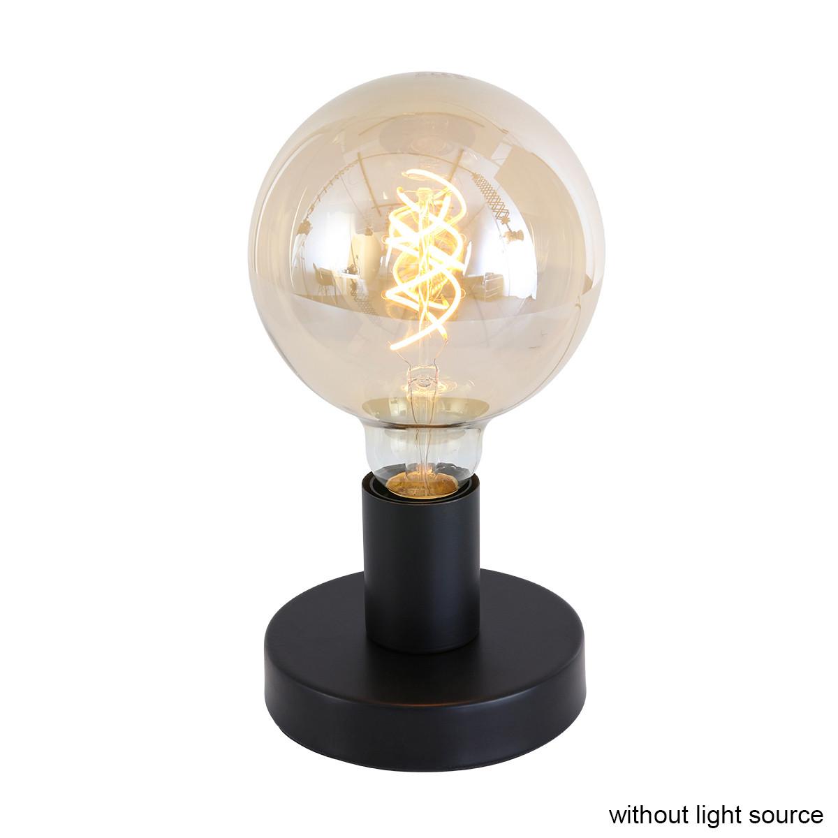 Tischlampe M 7 cm | Schwarz