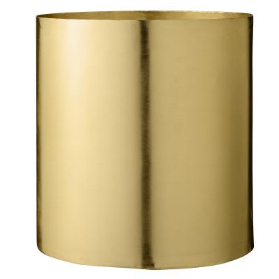 Blumentopf Metall 22 x 23 cm | Gold