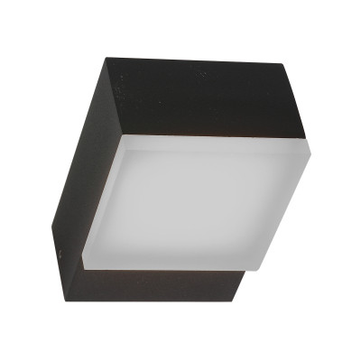 Outdoor-Lampe LED 12w Square | Schwarz