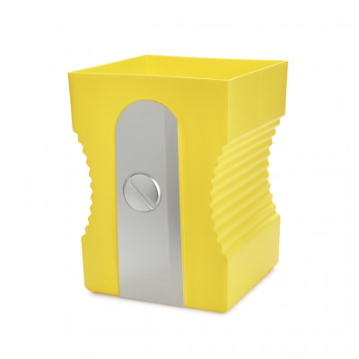 Papierkorb Anspitzer | Gelb