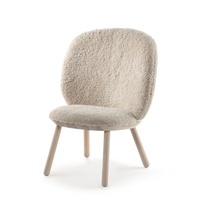 Low Chair Naive | White