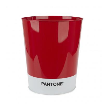 Papierkorb Pantone | Rot