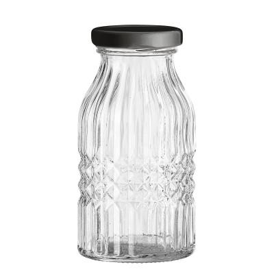 Glasflasche mit Deckel Cavit
