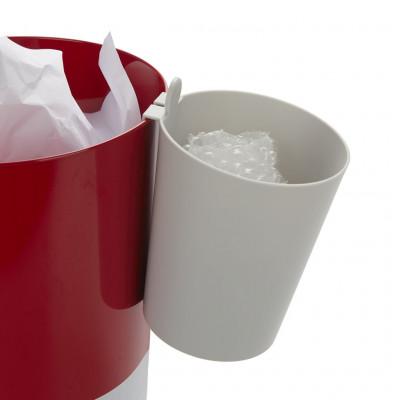 Papierkorb Mr.Recycle | Grau