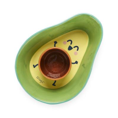 Snack Set Avocado | Grün