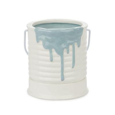 Blumentopf Painty 11,4x10x10 cm | Blau