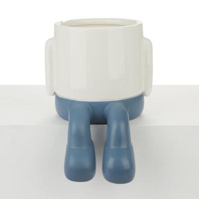 Blumentopf Mr.Dangly | Blau