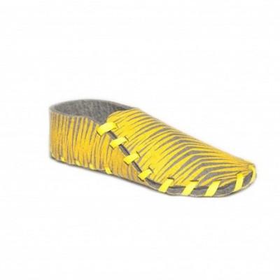 Lasso-Schuhe drucken | Gelb