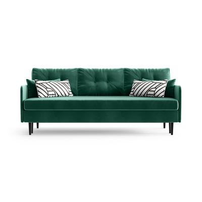 3-Sitzer Schlafsofa Memphis | Smaragdgrün