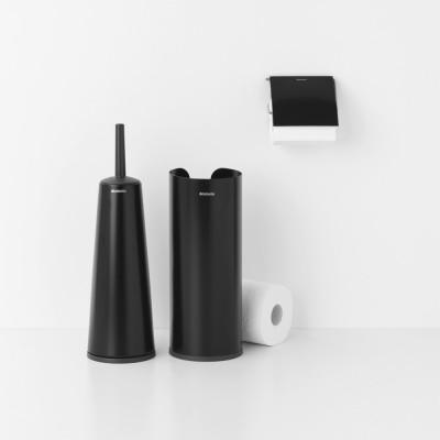 Toilettenzubehörse Set ReNew, 3-teiliges | Schwarz