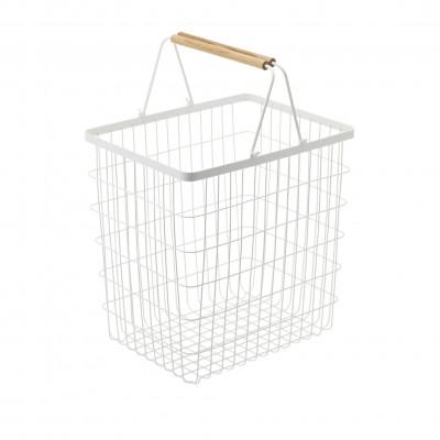 Laundry Basket L Tosca | White