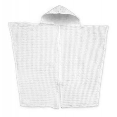 Big Waffle Baby Towel   White