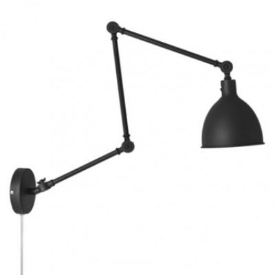 Wandlampe Bazar | Schwarz