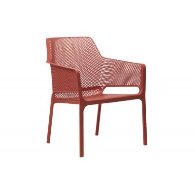 Stapelbarer Sessel Net Relax | Rot