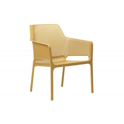 Stapelbarer Sessel Net Relax | Gelb