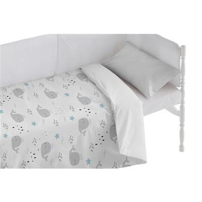 Bettbezug für Kinderbett Deep I Weiß 100x120 + 50x30 cm
