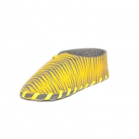 Lasso-Schuhe drucken   Gelb