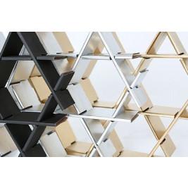 Cardboard Shelf | Chrome