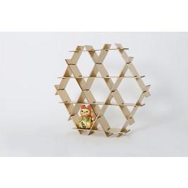 Cardboard Shelf   Gold