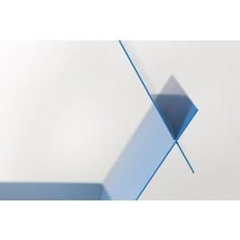 Aluminum Shelf | Blueberry Blue
