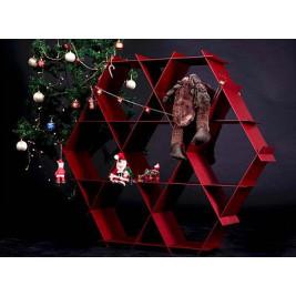 Aluminiumregal | Roter Ziegelstein