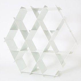 Aluminium-Regal | Weiches Weiß