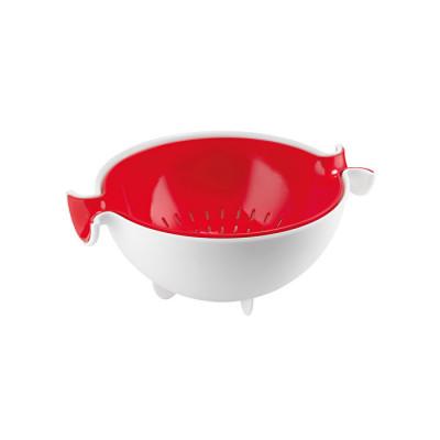 Sieb- und Schüsselset My Kitchen | Rot