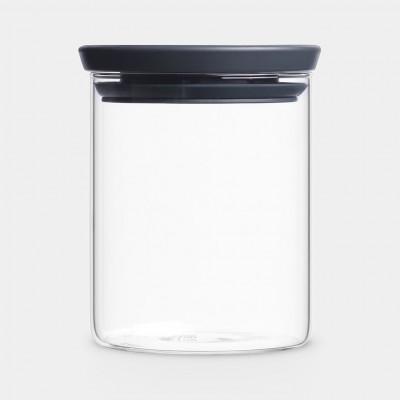 Stapelbarer Glasbehälter   0,6 L