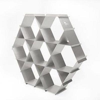 Aluminium-Regal | Natursilber