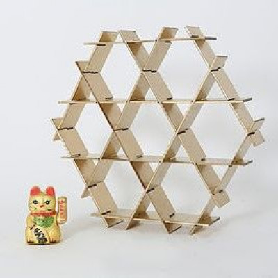 Kartonregal | Gold