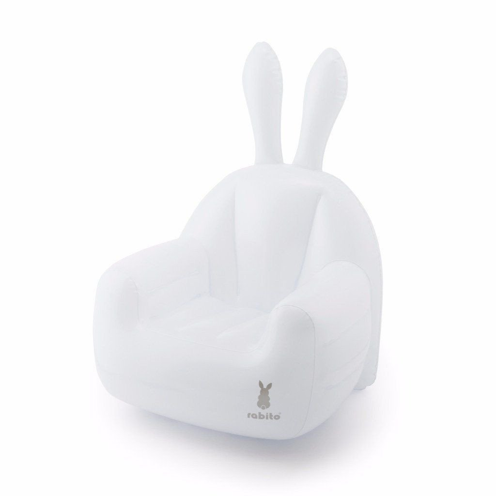 Small Inflatable Chair | Blue Sky White